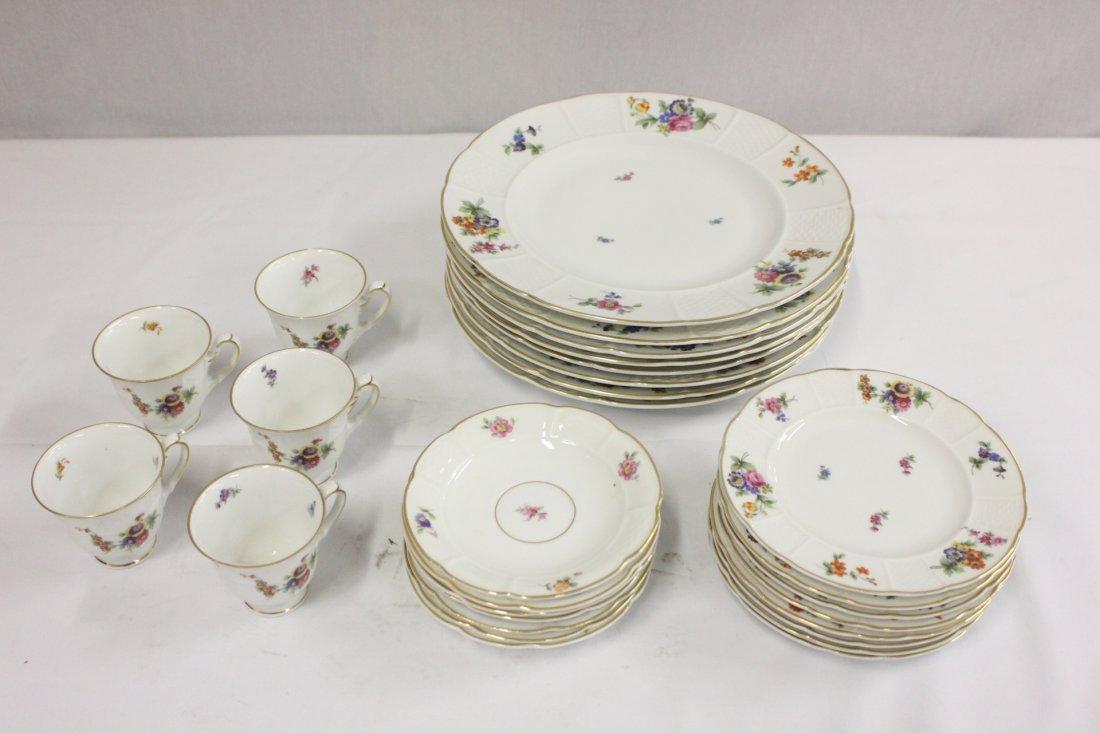 Partial set Rosenthal china, total 26pc