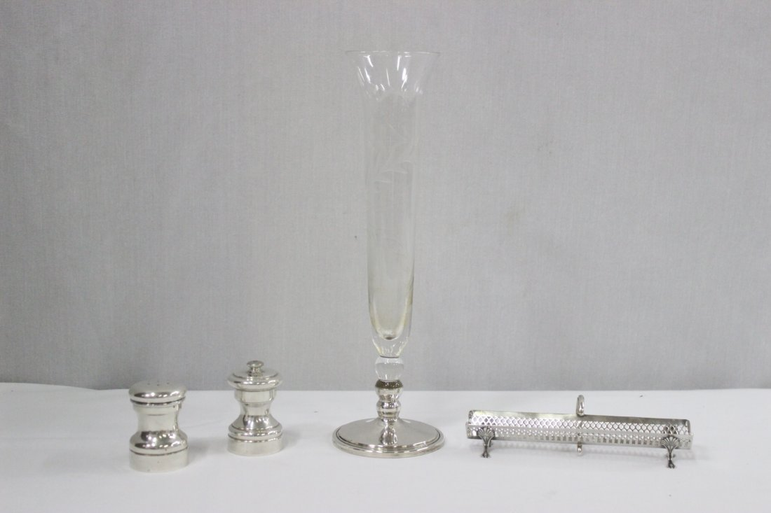 4 misc. sterling pieces, weight 139gm