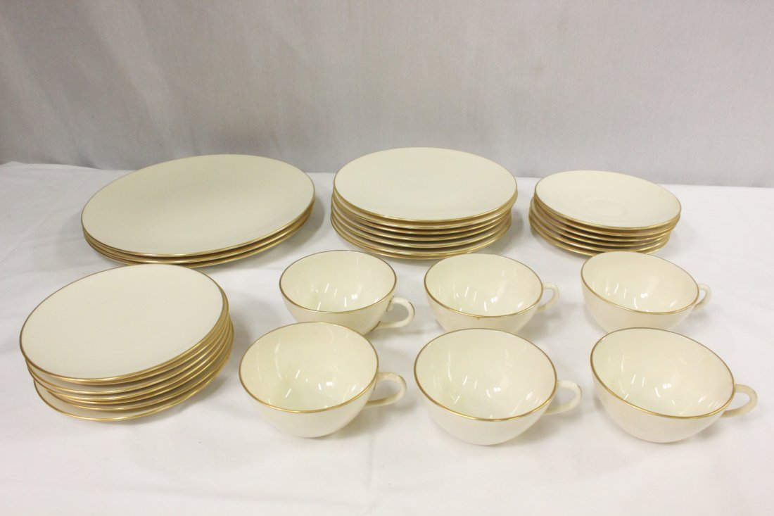 Lenox dinner set in Olympia pattern