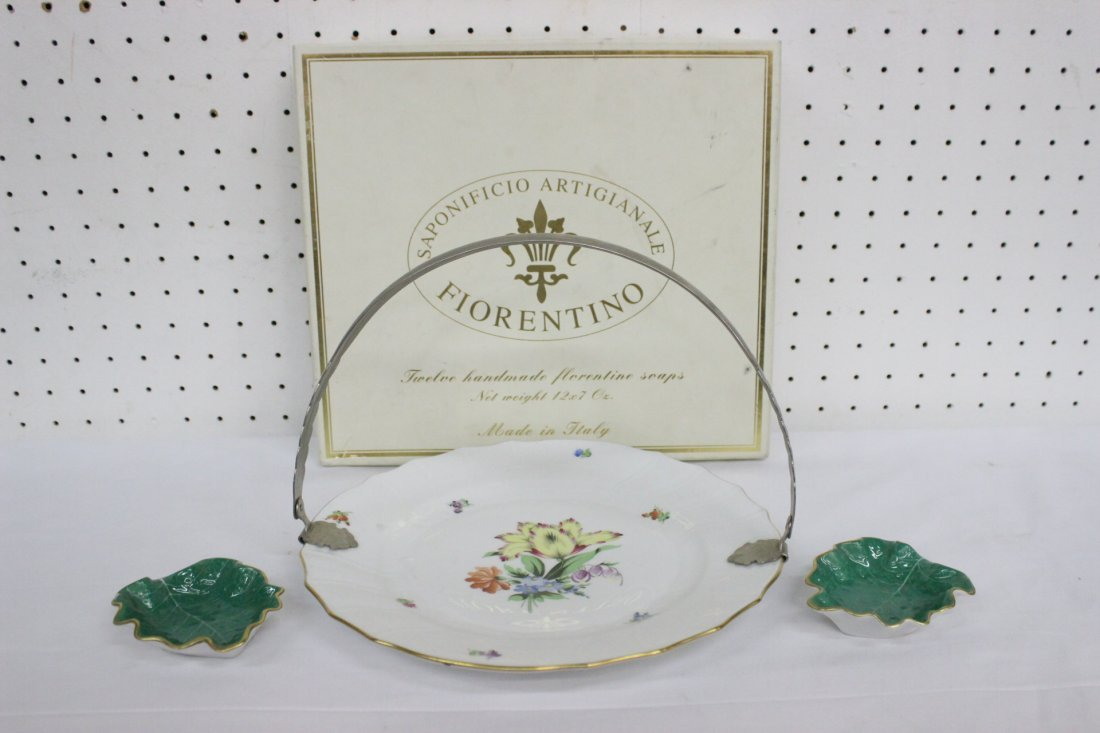 3 pieces Herend porcelain