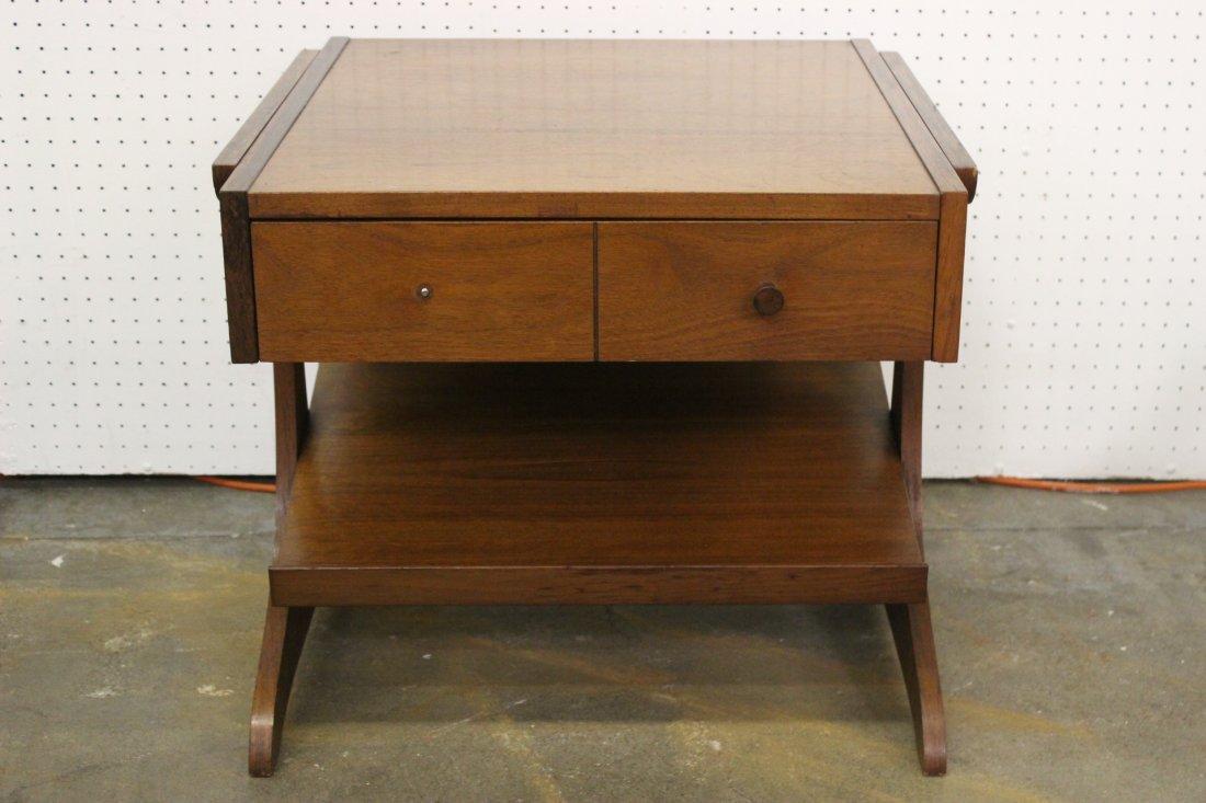 A mid-century teak wood end table by Kroehler - 2