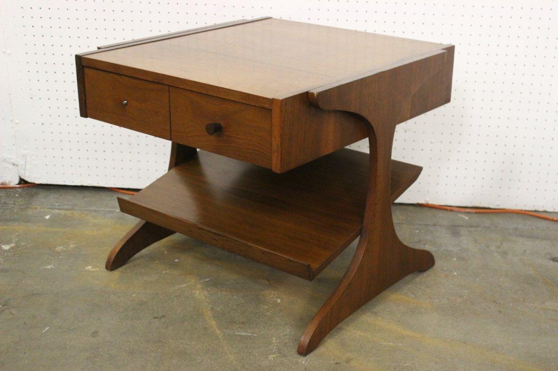 A mid-century teak wood end table by Kroehler - 3