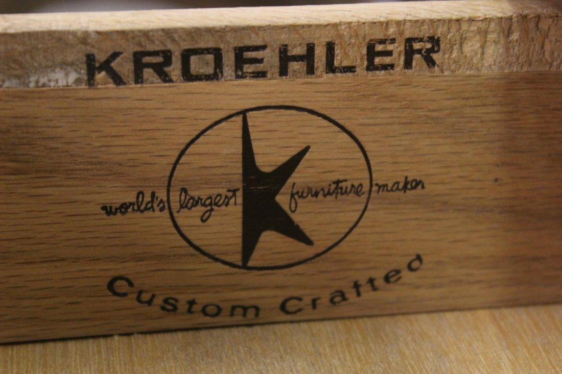 A mid-century teak wood end table by Kroehler - 7