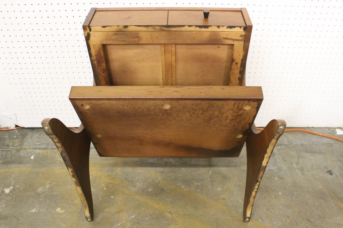 A mid-century teak wood end table by Kroehler - 9