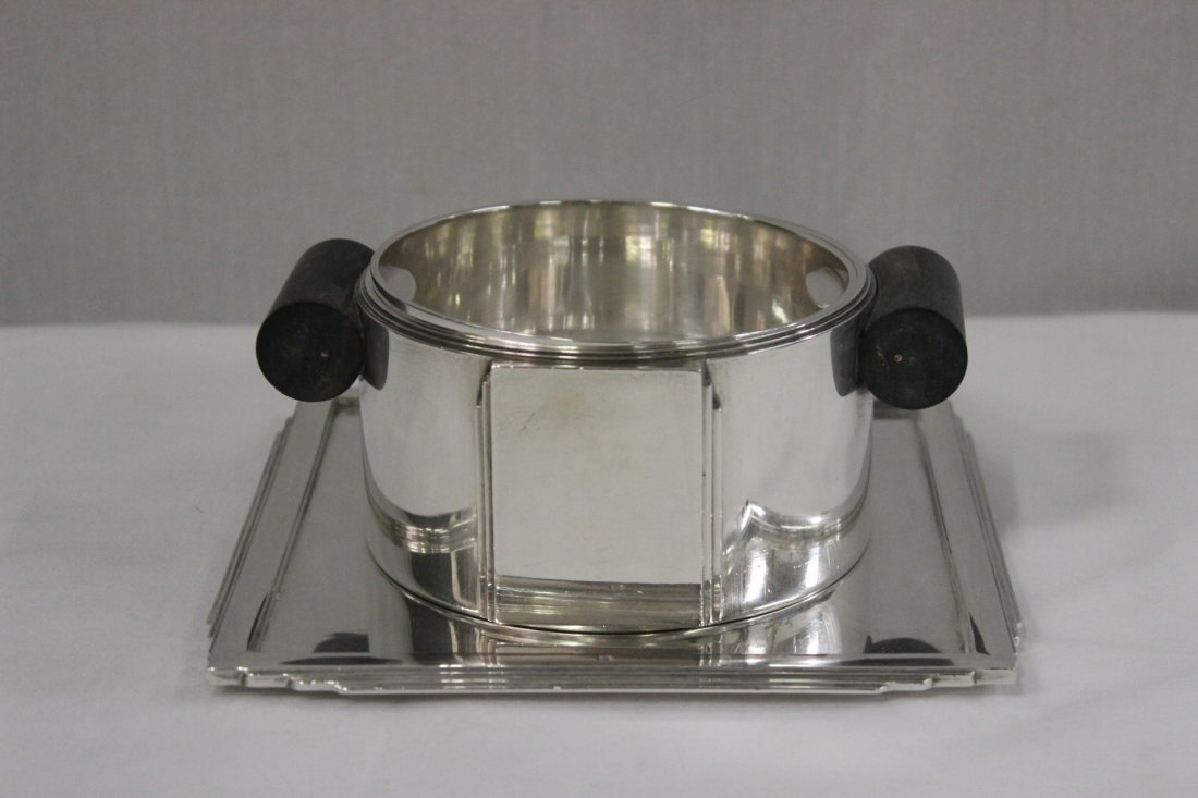 French Art Deco silver cup, by Jean E. Puiforcat