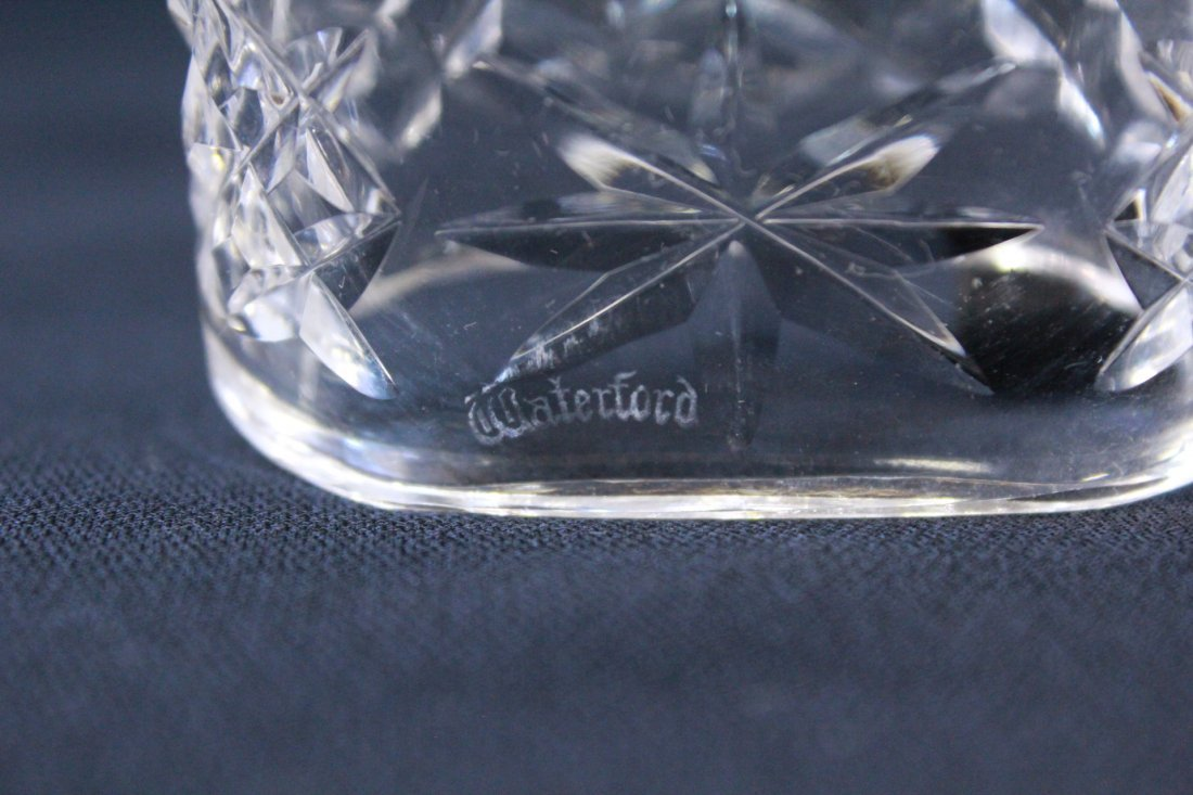 8 rare Waterford crystal napkin rings - 9
