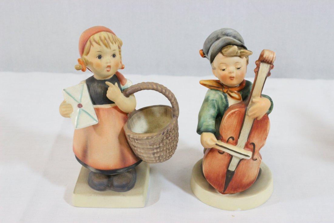6 Hummel figures and a miniature Hummel clock - 4