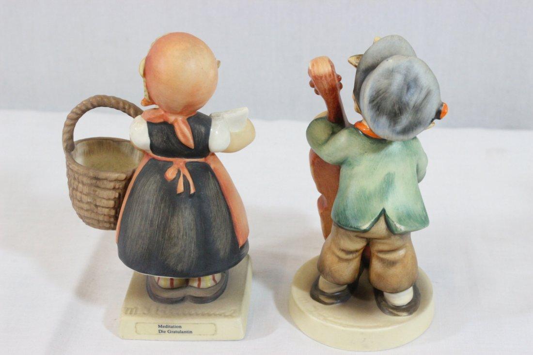 6 Hummel figures and a miniature Hummel clock - 5