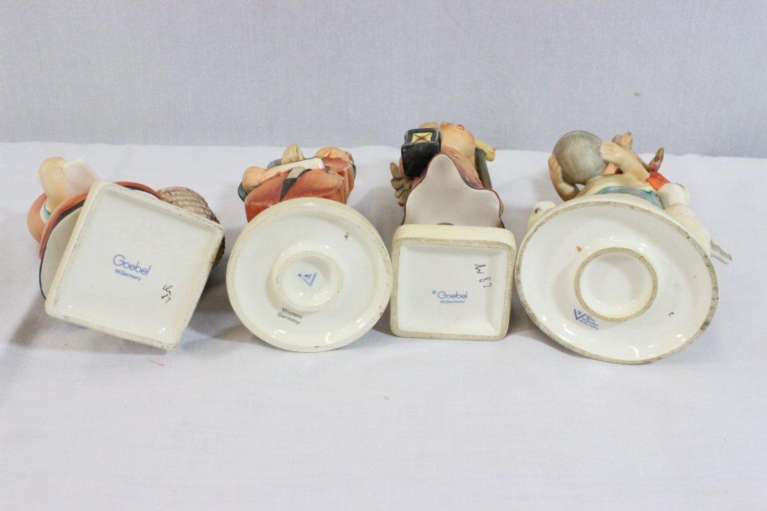 6 Hummel figures and a miniature Hummel clock - 6