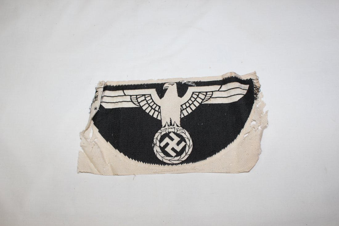 WWII German military hats & Nazi patches - 9