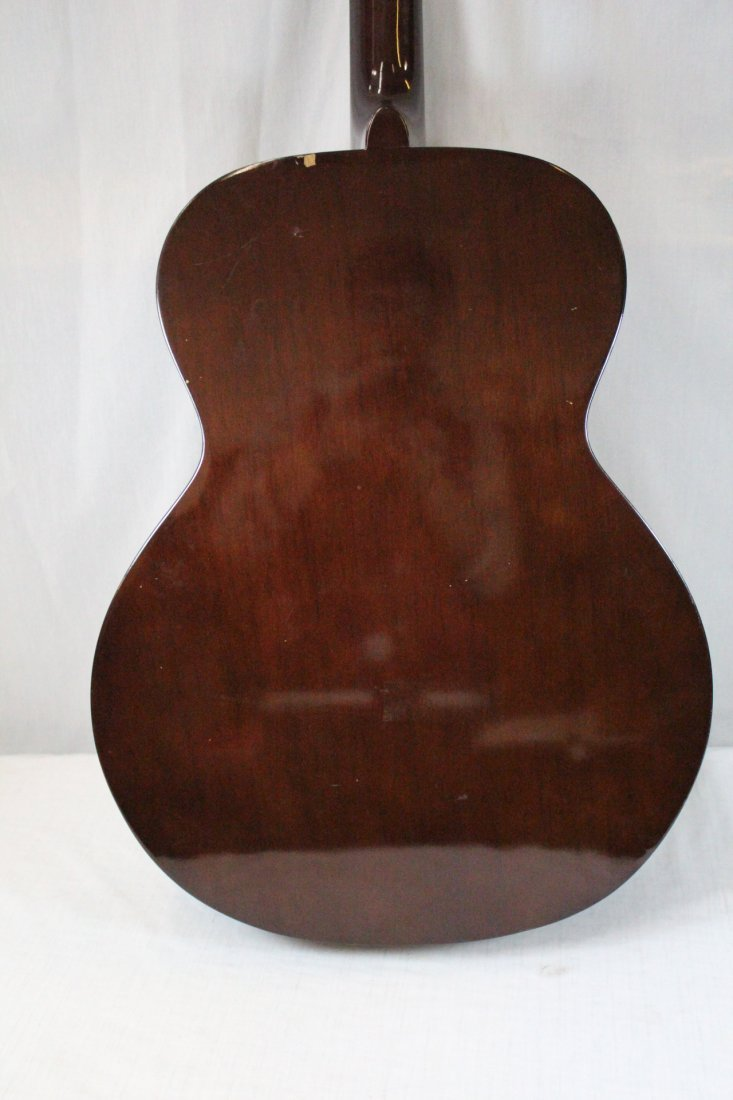 Autographed Takamine G-230 guitar - 10
