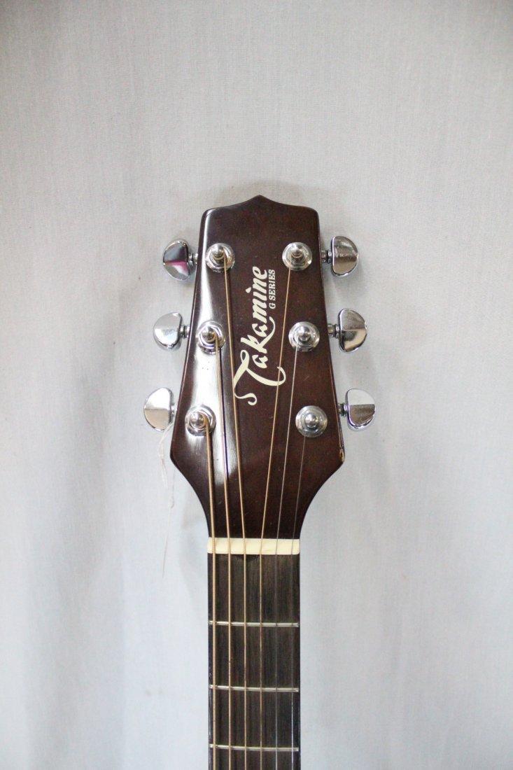 Autographed Takamine G-230 guitar - 3