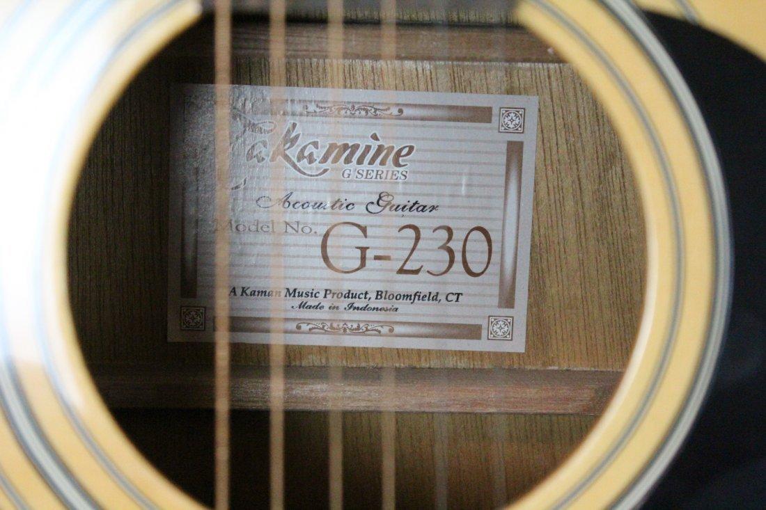Autographed Takamine G-230 guitar - 5