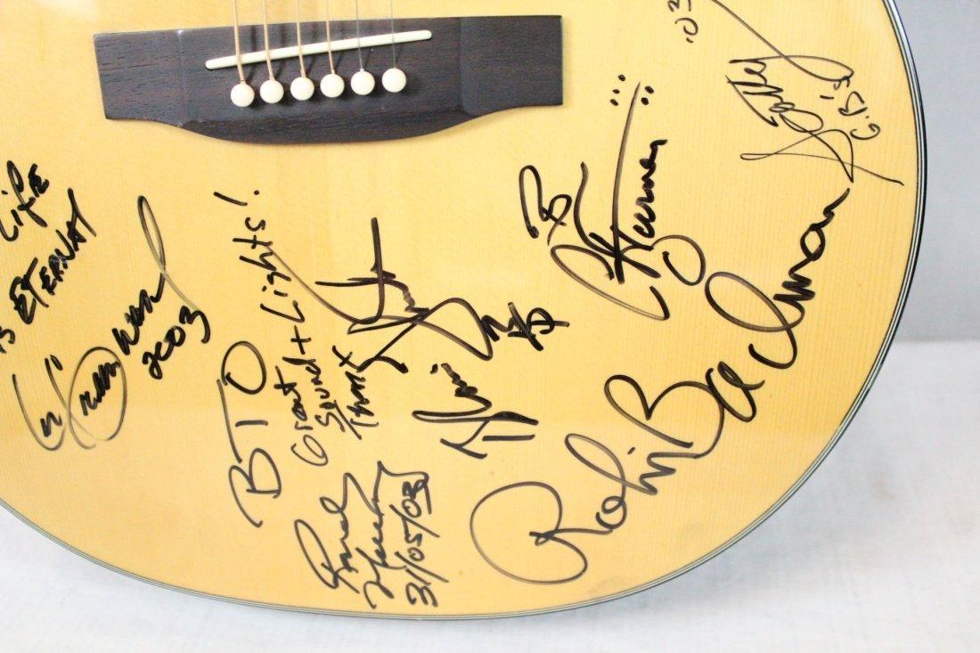 Autographed Takamine G-230 guitar - 6