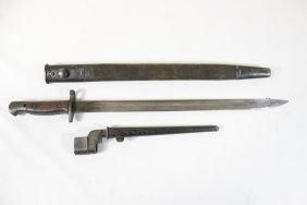 Wwi British Bayonet And A Wwii British Bayonet