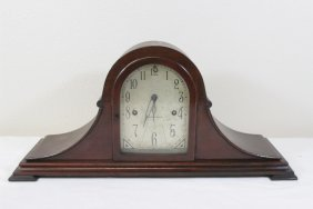 Unusual Ansonia Dome Shape 2 Chime Table Clock