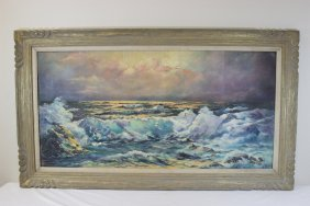 Oil On Board, Signed June Healey