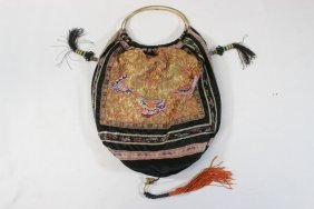 Chinese Antique Embroidery Lady's Bag