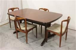Rosewood Mid century dining room set