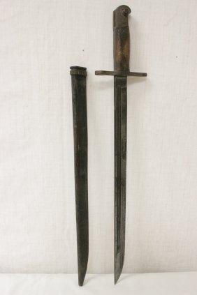 A Wwi/wwii Military Bayonet