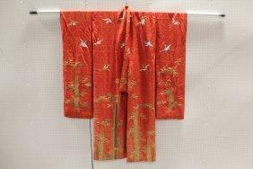 Japanese 19th Century Wedding Kimono