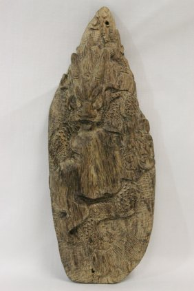 A Very Nice Chenxiang Wood Carved Ornament