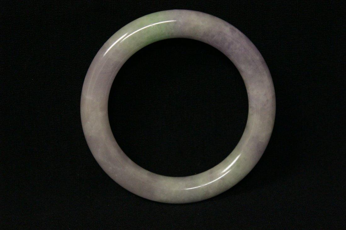 Beautiful lavender jadeite bangle bracelet