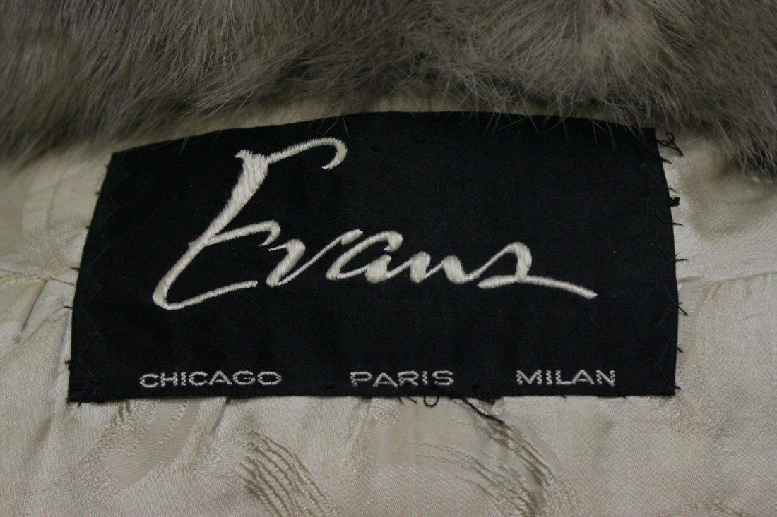 A full length mink coat - 10