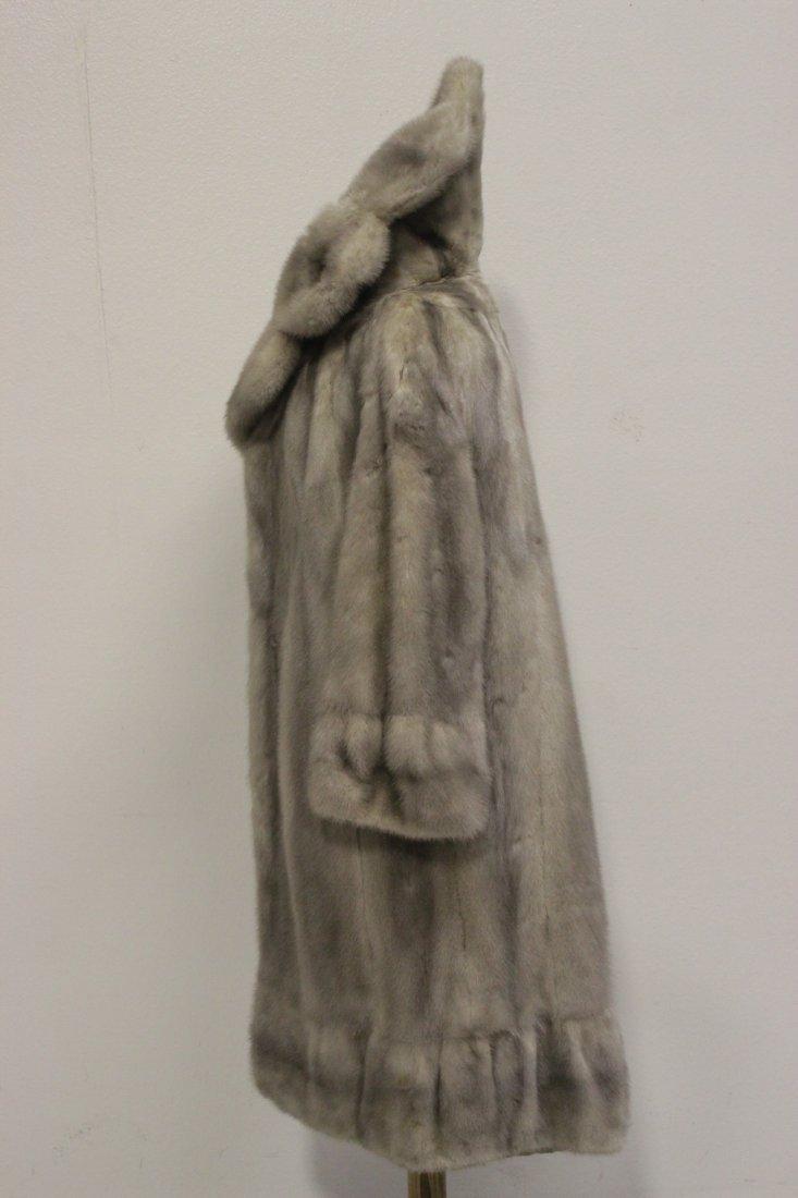 A full length mink coat - 2