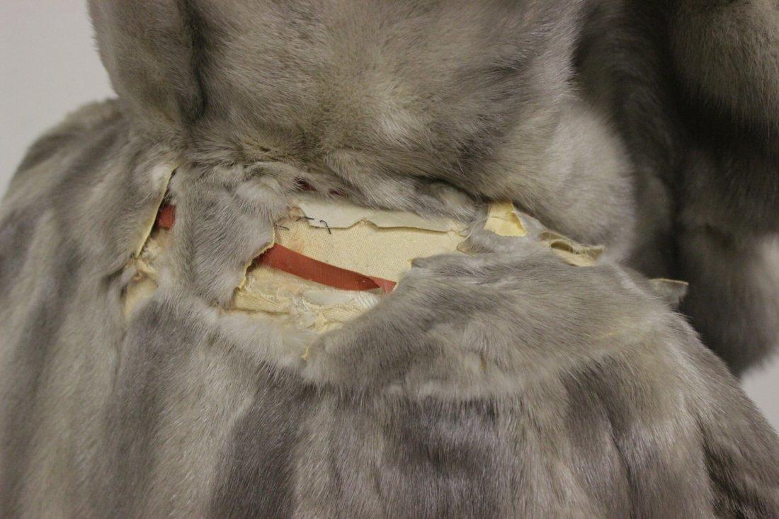 A full length mink coat - 4
