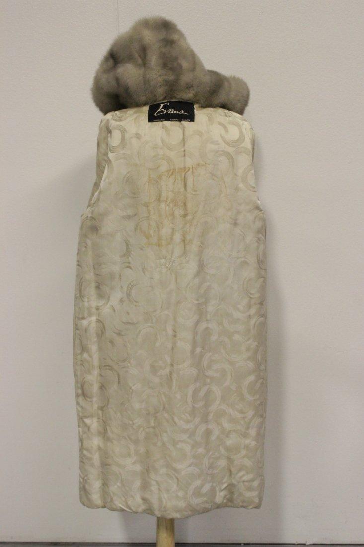 A full length mink coat - 9