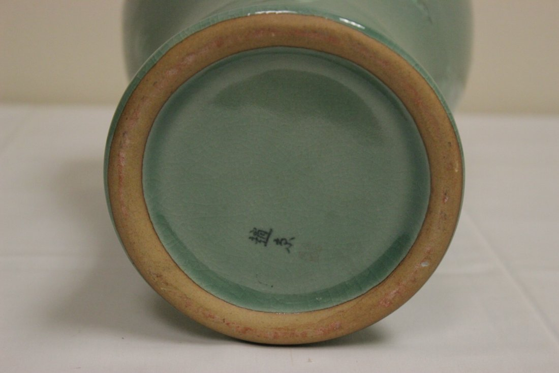 Korean celadon vase - 10