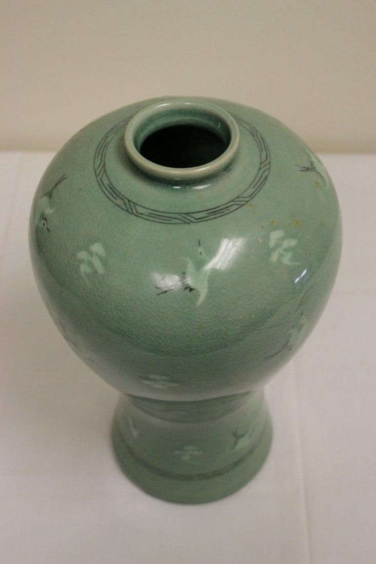 Korean celadon vase - 6