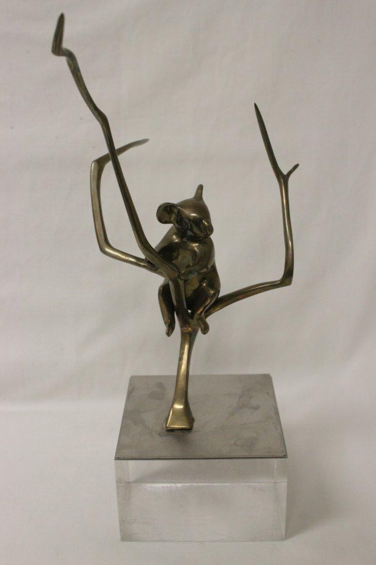 Bronze sculpture, signed Loet, number 153/500