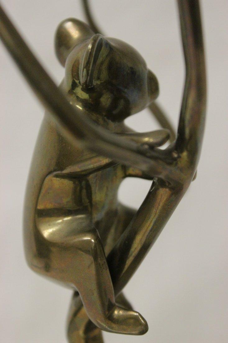Bronze sculpture, signed Loet, number 153/500 - 6