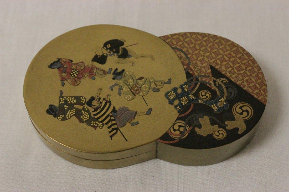 A beautiful Japanese lacquer box