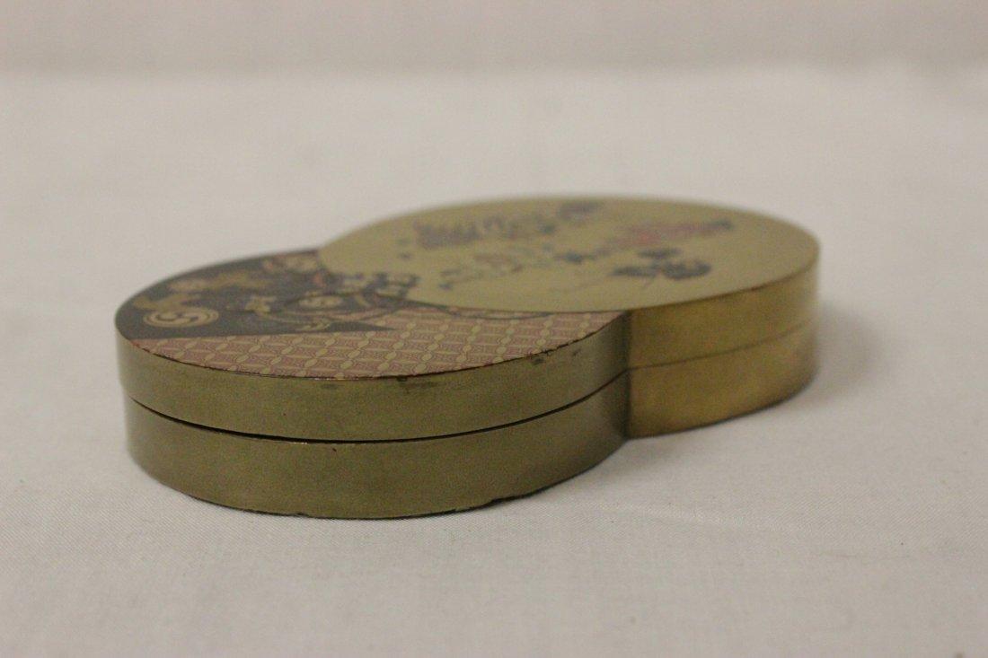 A beautiful Japanese lacquer box - 4