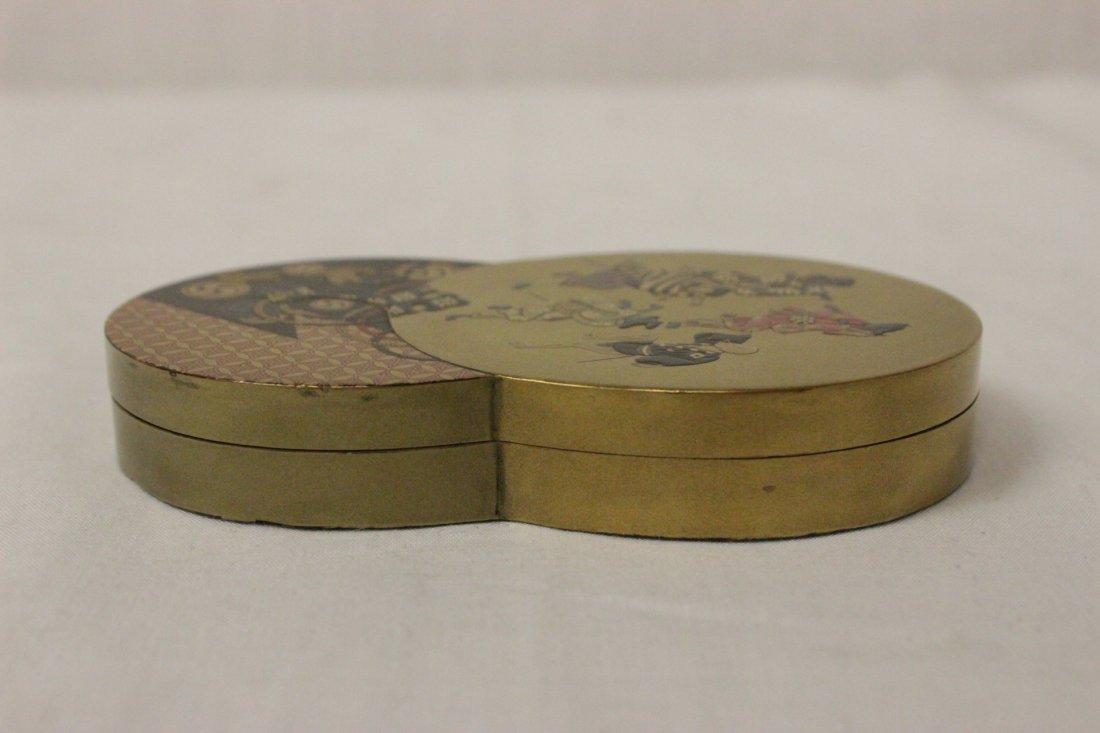 A beautiful Japanese lacquer box - 5