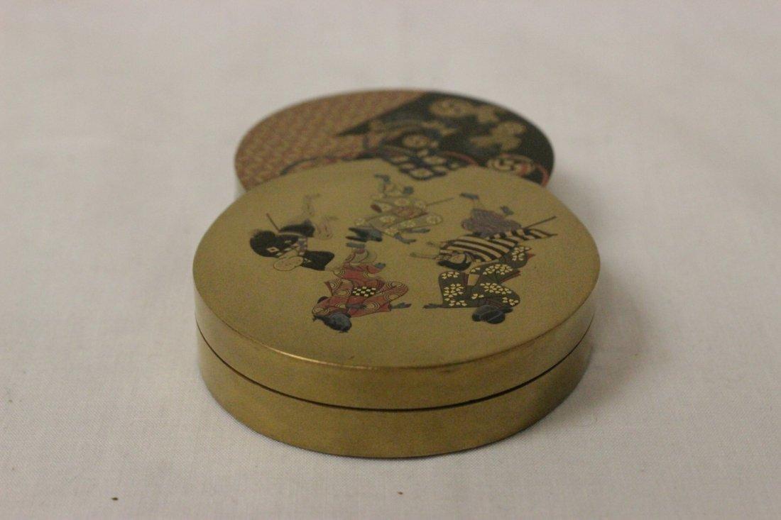 A beautiful Japanese lacquer box - 6