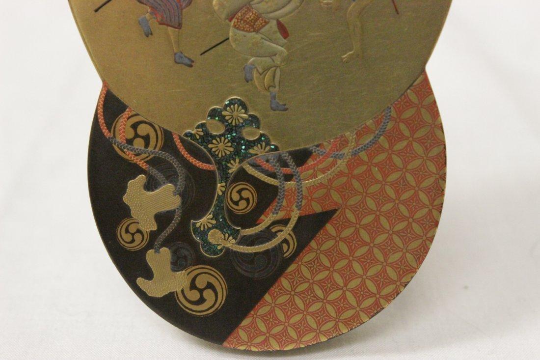 A beautiful Japanese lacquer box - 9