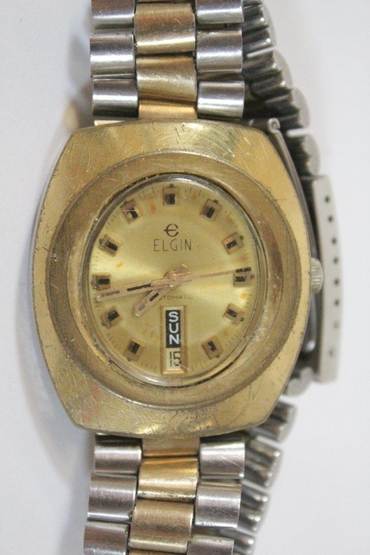 A vintage Hamilton watch and a vintage Elgin watch - 10