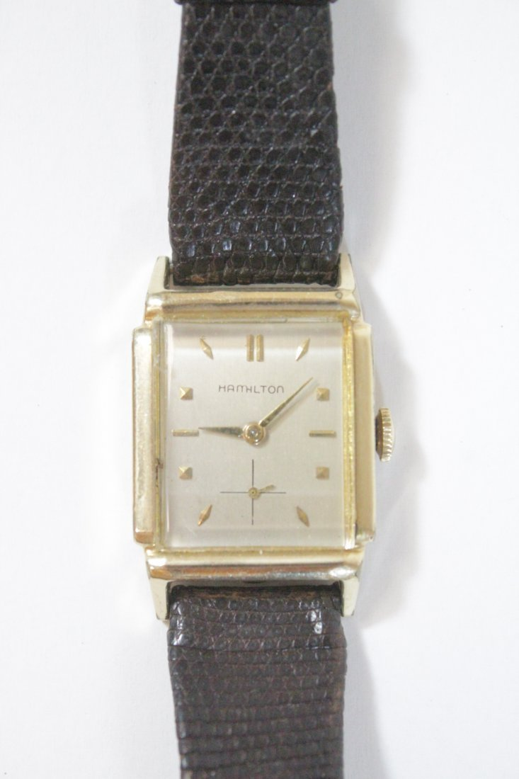 A vintage Hamilton watch and a vintage Elgin watch - 3
