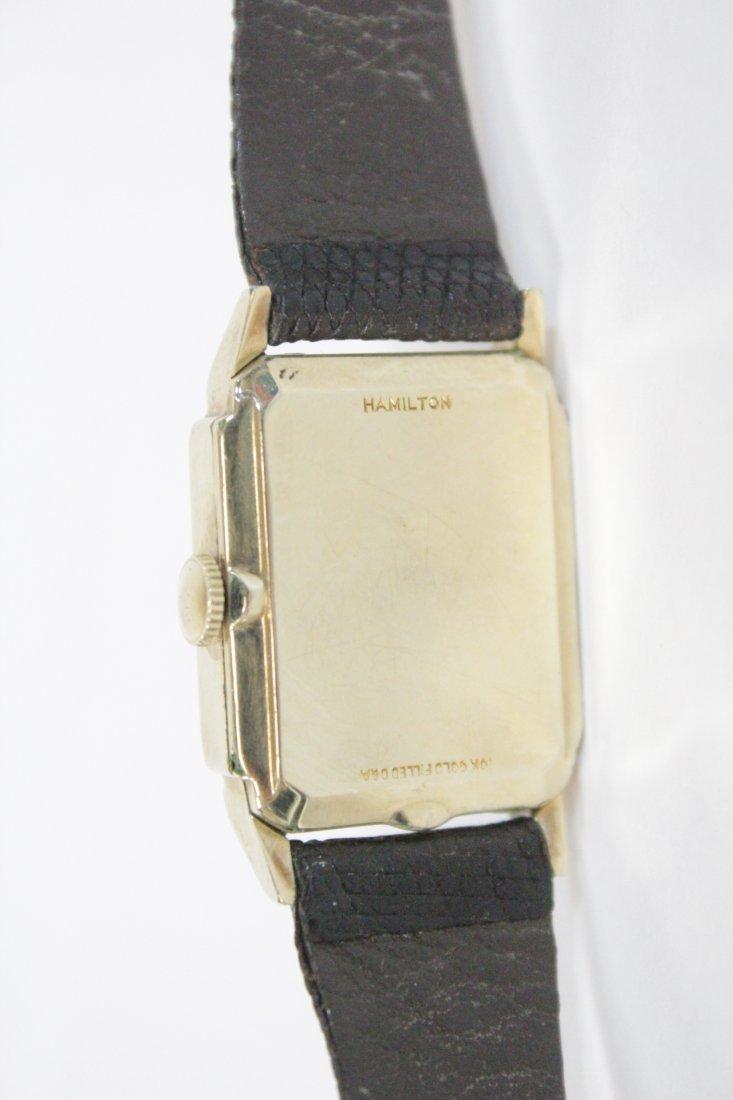 A vintage Hamilton watch and a vintage Elgin watch - 4