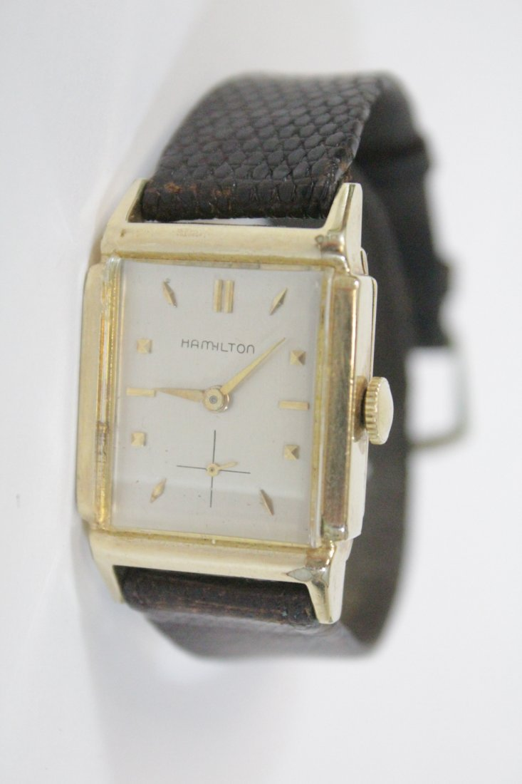 A vintage Hamilton watch and a vintage Elgin watch - 5