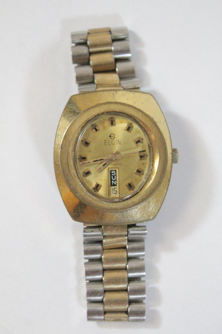 A vintage Hamilton watch and a vintage Elgin watch - 6