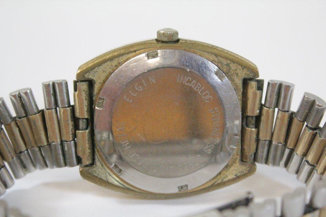 A vintage Hamilton watch and a vintage Elgin watch - 9