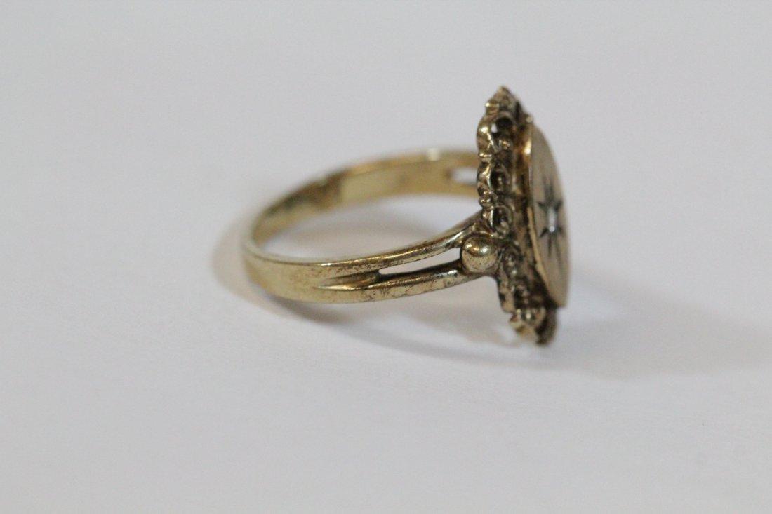 2 Victorian 10K Y/G rings - 5