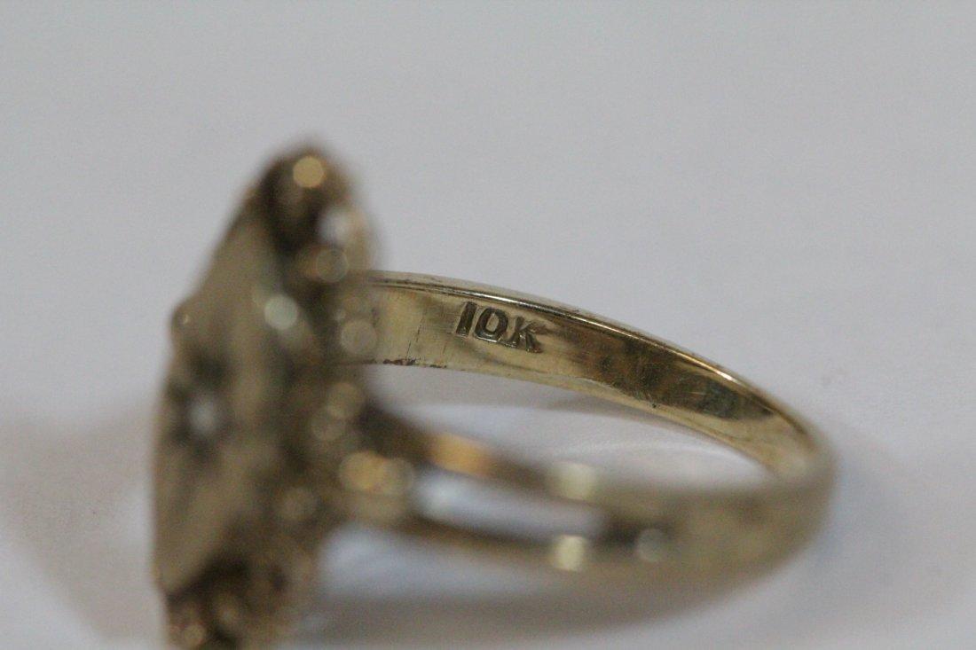 2 Victorian 10K Y/G rings - 6