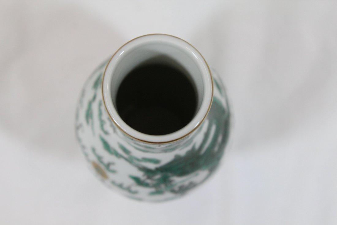 Famille rose porcelain small vase - 6