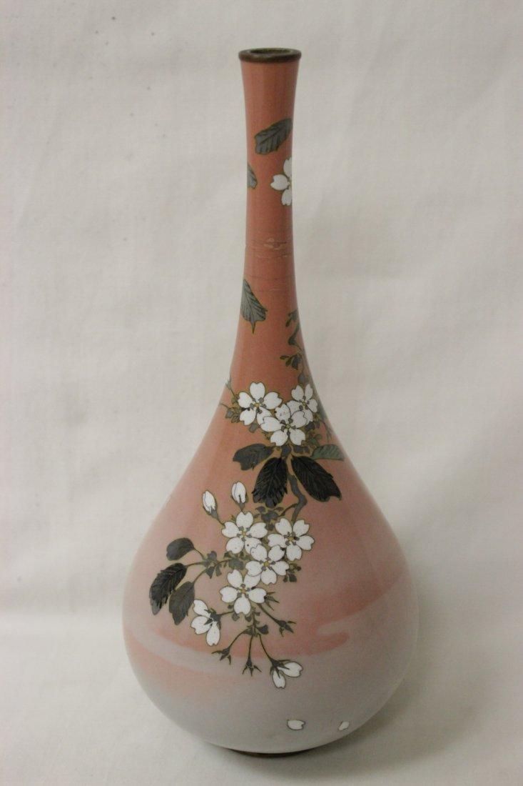 2 antique Japanese cloisonne vases - 6